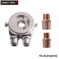 Wholesale Tansky High Quality Universal Oil Filter Cooler Plate Adapter With No Logo TK OL01 AN10 Have In Stock