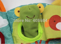 animal picture books lot - pieces baby finger puppet Animal Book Tearproof Colorful Picture D Cloth book Early Education toy