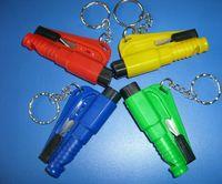 belt cutter - 3 in Car Emergency Safety Hammer Seat Belt Cutter Glass Window Breaker Car life saver SOS Whistle