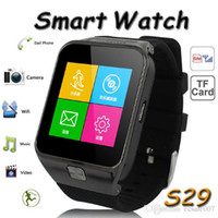 android voice recorder bluetooth - Colorful Bluetooth smart watch phone M camera X240pixel touch screen android s29 smart watch FM MP3 Voice recorder multi Language DHL