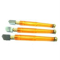 Wholesale 2015 New Precious Yellow Practical Design Glass Cutter Cutting Range mm Glass Cutting Tool with Plastic Handle