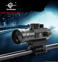 Wholesale Newest x optical zoom mode red and green dot sight riflescope hunting gunsight for gun camera bird waching