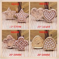 Cheap New arrived 30pcs mix pearls decoration alloy gold plated metal star&heart&flowers&bags shape floating locke charms buttons