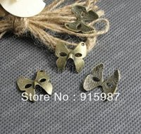 beautiful handcrafted jewelry - 100pcs mm Vintage Bronze Beautiful Mask dance Handcrafted Pendants Jewelry Making Charm A1747