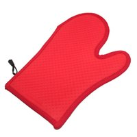 Wholesale Silicone gel and cotton insulation gloves Long gloves Baking oven glove cotton gloves