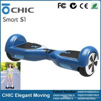 best power wheels - CHIC Smart S1 Motor Powered Hoverboard Electric Scooters Self Balancing Free Hand Standing Scooter Unicycle Best Smart Balance Two Wheel
