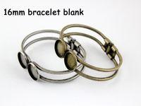 Wholesale 5pcs mm beautiful bracelet setting bracelet blanks round bracelet bangles