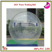 Wholesale 2015 Hot Selling M PVC Material Inflatable Water Walking Ball Water Zorb Ball fedex freeship