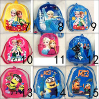 big minion plush - despicable me minion plush backpack frozen plush backpack avengers backpack big hero backpack bag for kindergarten