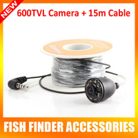 -20 to 60 degree underwater video camera - 2015 New Arrival Only TVL White Underwater Video Camera With Meters Cable For quot TFT LCD Fishing Camera BO220 H15M OR BO220 H30M