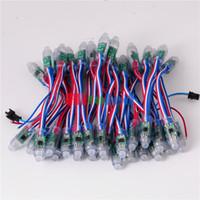 b w pixel - mm WS2811 IC Led Pixel Module String Digital RGB Full Color R G B W Wire Waterproof IP68 DC12V