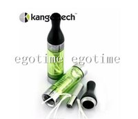 kanger tech - In Stock kanger T2 CC tank atomizer clearomizer genuine tech t2 clearomizer with changeable coil head T2 coil coils with long wick atomizer