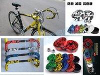 Wholesale bicycle handle bar strap road bike handle grip handlebar tape wrap bind belt with bar plugs