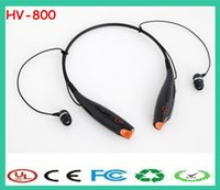 Wholesale OY Free DHL hv neckband Stereo Portable sport headsets In ear bluetooth Headphones wireless Earphone
