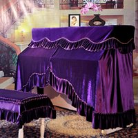 Wholesale Warriors Mercure new Moonlight Sonata Piano cover full cover piano stool sets the whole package special Hanguo Qin velvet jacket