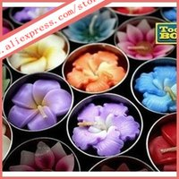 Wholesale 4cm flowers Scented candles small rose candles wedding candles preferential Beautiful flowers