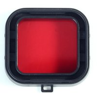 Wholesale New Red Polar Pro GoPro Hero3 Filter AQUA3 For Scuba Diving Tropical Water order lt no track