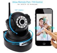 Cámaras de seguridad de vigilancia KKMOON 720P HD H.264 1 MP IP PnP red P2P AP Pan Tilt IR Cut WiFi inalámbrico IP Webcam S379