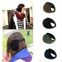 Wholesale Unisex New Men Women Winter Ear Muffs Warmers Wraps Earmuffs Earwarmers