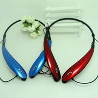 Wholesale HBS Sports Stereo Bluetooth Wireless HBS Headset Earphone Headphones with retail package more colors