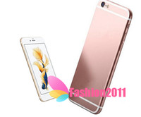 Wholesale unlocked i6s Plus inch android MTK6735 Quad Core Real LTE G Real Fingerprint MP MP dual camera HD smartphone