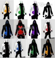 Wholesale Halloween costumes for women Assurance New Kenway Men s jacket anime cosplay clothes assassins creed costumes for boys kids