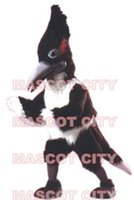 Wholesale Professional High Quality Long Hair Roadrunner Mascot Costume Adult Size Party Mascotte Mascota Outfit Suit Fancy Dress SW548