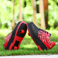 air squared - size New Child heelys roller shoes with wheels kids shoes sneakers for children boys girls BZ013