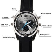 Wholesale 2015 Newest Sale GB HD P Waterproof Spy Watch Camera with IR Night Vision Hidden Camera