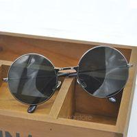 vintage frames - Hot Vintage Retro Black Round Circle Sunglasses Unisex Glasses Fashion UV Protection Metal Eyewear Eyeglasses MPJ167