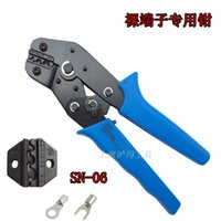 Wholesale 20 AWG bare copper nose crimping pliers crimping pliers mmO type U shaped end Crimping SN