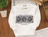 autumn watch - Boy cartoon images of digital watches cotton T shirt baby sweater boys hoodies