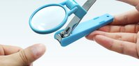 Wholesale Baby health care nail clipper with loupe