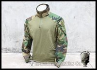 Cheap TMC G3 Combat Shirt airsoft military woodland camouflage TMC1819-WL