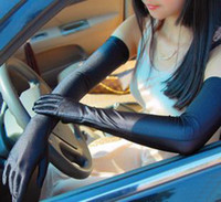 Wholesale Long Spandex Driving Gloves Summer UV Protection cm Mix Color prs B7