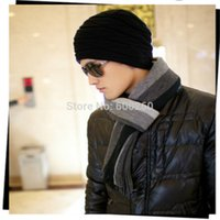 Wholesale 2014 New Winter Classical Striped Artificial wool Scarf Men Tassels Scarf Long Pashmina Shawl Drop shipping