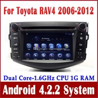 Android car audio dvd - Android Car DVD Player Radio for Toyota RAV4 w GPS Navigation Bluetooth TV USB SD AUX Audio Stereo G WIFI