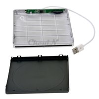 Wholesale Slot in USB Slim SATA External DVD RW Optical Drive Burner Writer Case Enclosure Caddy For Apple iMac Macbook SHC06SQ WY