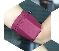 band purses - Outdoor sports arm band high elastic armband sleeve arm package phone running Samsung arm wrist bag purse bag