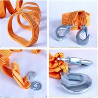 Wholesale 10 m car towing ropes nylon emergency cart rope high bearing capacity car accessories