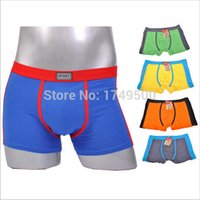 animal boxers - ns5861 Male boxer Cotton Hot Sale man underwear panties male trunk Men s Clothing Underwear Sports men shorts