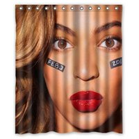 beyonce ring - New Brand Beyonce holes to which rings attach Shower Curtain x72 on sale