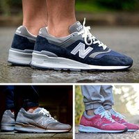 fish and - Classic Fashion Unisex NB997 Running Sports Shoes Banlanced Athletic Outdoor Shoes For Men And Women NB Sneakers Size