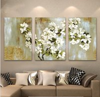apple blossoms pictures - The Apple Blossom cmx3p inchx3p Handmade Modern Oil Painting On Canvas Wall Art Top Home Decoration TH176