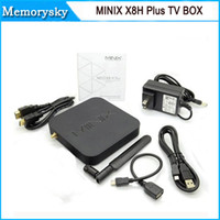 Wholesale TV BOX MINIX NEO X8 H Plus X8 H android Amlogic S812 Quad Core smart TV Android G G H K G G WIFI free A2 Lite Hot
