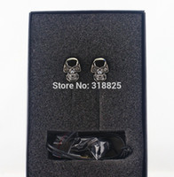 ipods for sale - New Brand Hot Sale Cool Skull stylish Heads mm Plug Metal in ear Headset candyEarphones MP3 for iPads iPods with retailbox