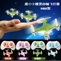 Wholesale New CX CX10 Mini G Remote Control Toys CH Axis RC Drone Quadcopter rc helicopter Channel Best Toy And Children s Gift