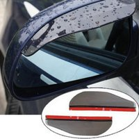 automotive cylinder heads - Car rearview mirror Automotive Weatherstrip side mirror rain or shine mirror rain eyebrow rearview mirror to block the rain