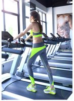 Wholesale WF002 Autumn Hot Sale Women s Girls Tight Yoga Running Workout Sports GYM Training Leggings Pants with Quick Dry