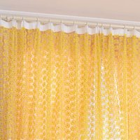 Wholesale Hot Rose Tulle Window Screens Door Balcony Curtain Panel Sheer Scarfs Curtain